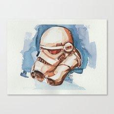 Storm trooper water color FAnart Canvas Print