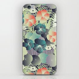tropical mix iPhone Skin