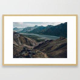Unit 9 - Denali National Park Framed Art Print