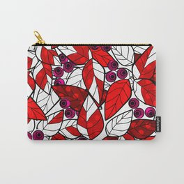 Retro . Bright colorful pattern . Carry-All Pouch