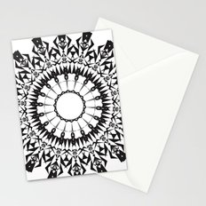 No Way Black Stationery Cards