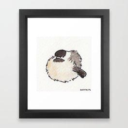 Bird no. 427: All Borbs are Good Framed Art Print