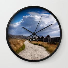 The Stanley track Wall Clock