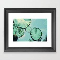 Be water Framed Art Print