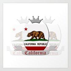Calfornia Art Print