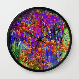 Words That Rattle Round My Head [A Brand New Experiment Series] Wall Clock