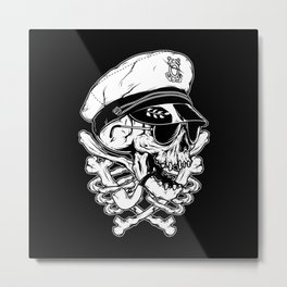 Death Captain Metal Print