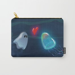 Jellyfish and Ghost Carry-All Pouch