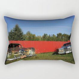 Auto Graveyard 2 Rectangular Pillow