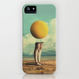 Lone Poker-Face iPhone Case