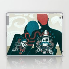 Love You / Love Me - Us and Them Laptop & iPad Skin