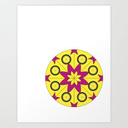 Mandala Project Four Art Print