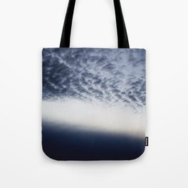 Drama above the Fjord Tote Bag