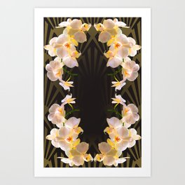Orchid (tulips) from my terasse Art Print