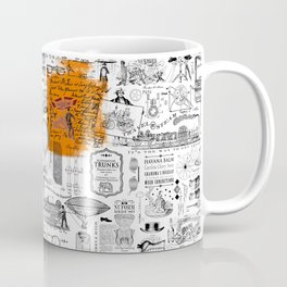 Looking Back to the Future Coffee Mug