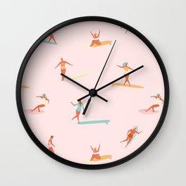 Sea babes Wall Clock