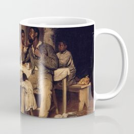 African American Masterpiece 'A Pastoral Visit' by Richard Norris Brooke Coffee Mug