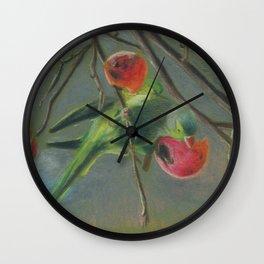 parrot 2 Wall Clock