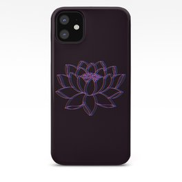 Trippy Lotus Flower iPhone Case