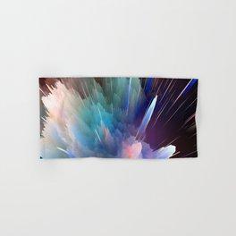 Color Burst Design Hand & Bath Towel