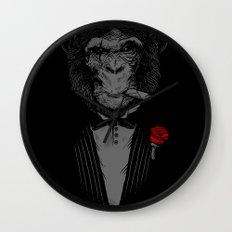 Monkey Business Wall Clock