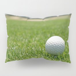 Golf Ball Pillow Sham