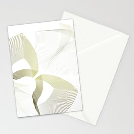 Elegant minimalist illusion Stationery Cards