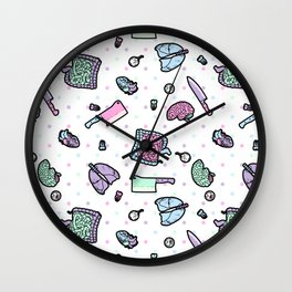 Sweet Yandere (White) Wall Clock
