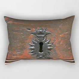 Antique Keyhole Rectangular Pillow