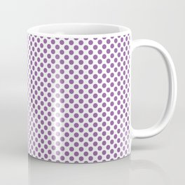 Dewberry Polka Dots Coffee Mug