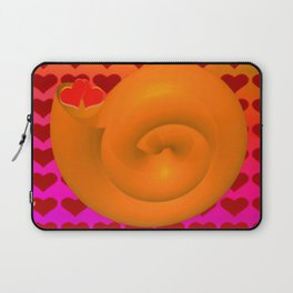 A snail shell for two ... Laptop Sleeve