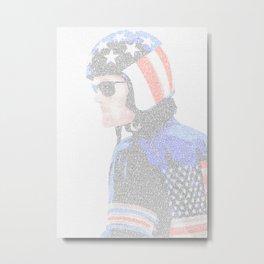 Easy Rider Screenplay Print Metal Print