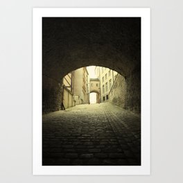 Old Luxembourg Art Print