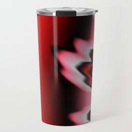 Red Feathers Travel Mug