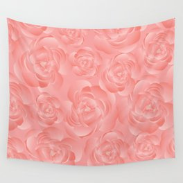 Peonies Wall Tapestry