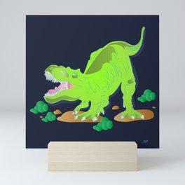 Dino - Bright Mini Art Print