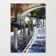 Riverside York Canvas Print