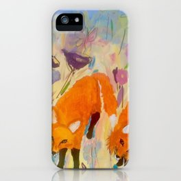 Frankie and Johnnie iPhone Case