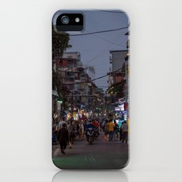 Streets of Hanoi iPhone Case