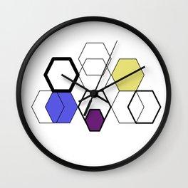 Flower Art Wall Clock