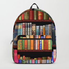 Vintage books ft Jane Austen & more Backpack