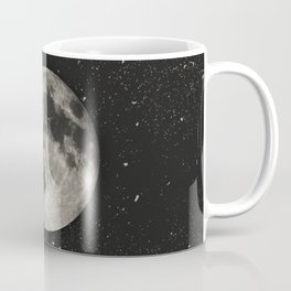 The Moon  [Sans Type] Coffee Mug