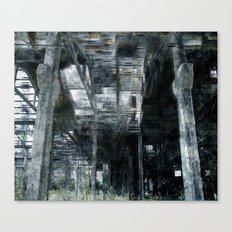 Factory 4 Canvas Print