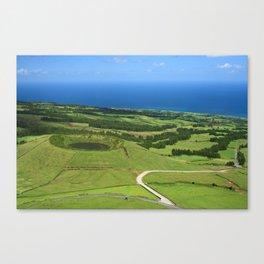 Sao Miguel, Azores Canvas Print