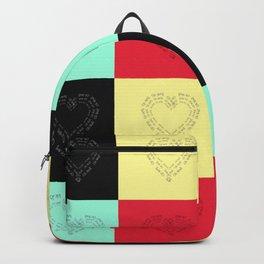 Plaid Hearts Backpack