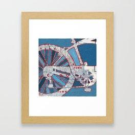 Bike Chicago - Grant Park Framed Art Print