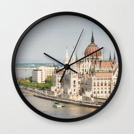 Budapest Parliament Wall Clock