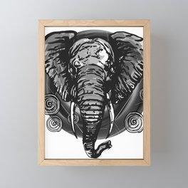 Never Forget - BNW Serie Framed Mini Art Print