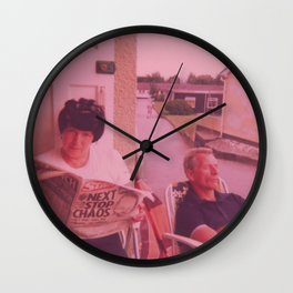 Next Stop Chaos Wall Clock
