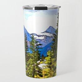 Faith, Charity and Hope - Three Sisters Mountain Range Travel Mug